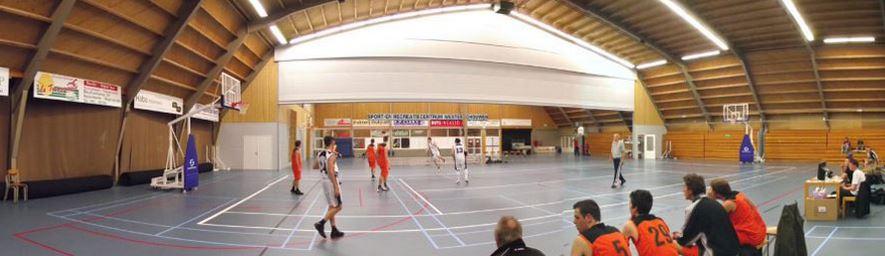 Nieuwe T5 sportverlichting bij Sportcentrum Westerschouwen