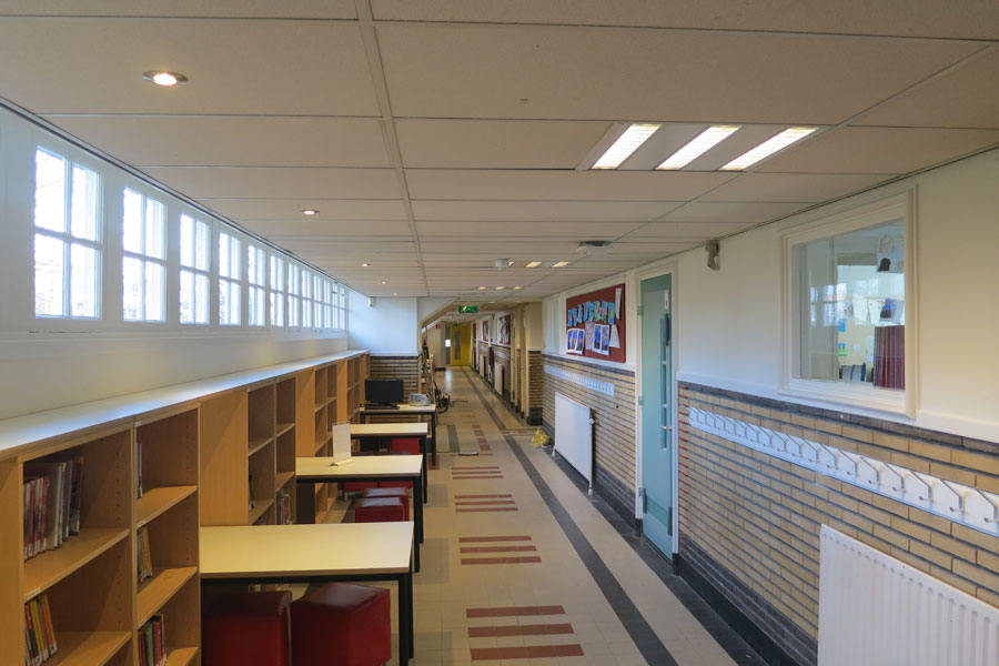 T5 en Led verlichting basisschool De Wilge