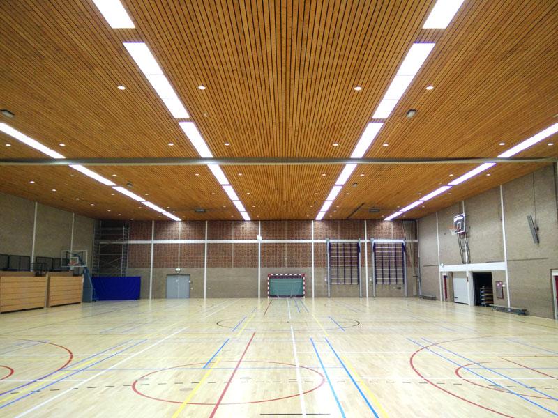 Led verlichting Sporthal De Pol