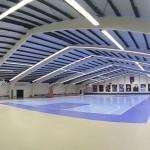 Led verlichting bij Sportcentrum De Schaapskooi